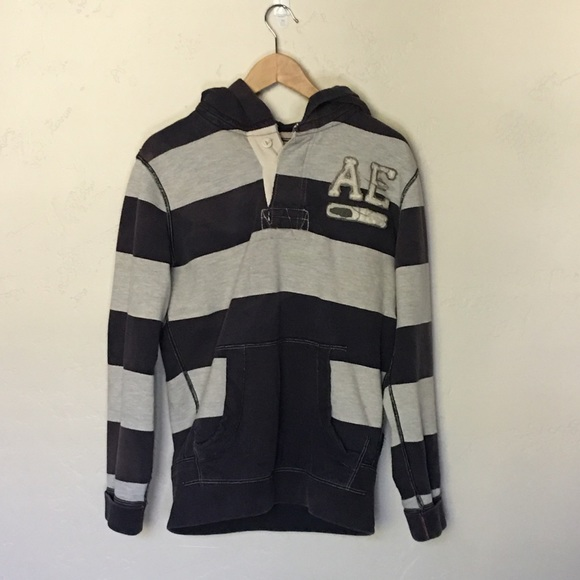 American Eagle Outfitters Jackets & Blazers - American Eagle, stripped hoodie